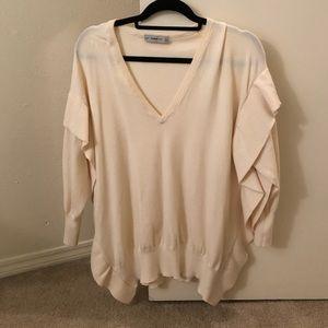 NWOT Zara oversized knitted sweater